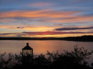 Ord ska ge utsikt - som en augustimorgon